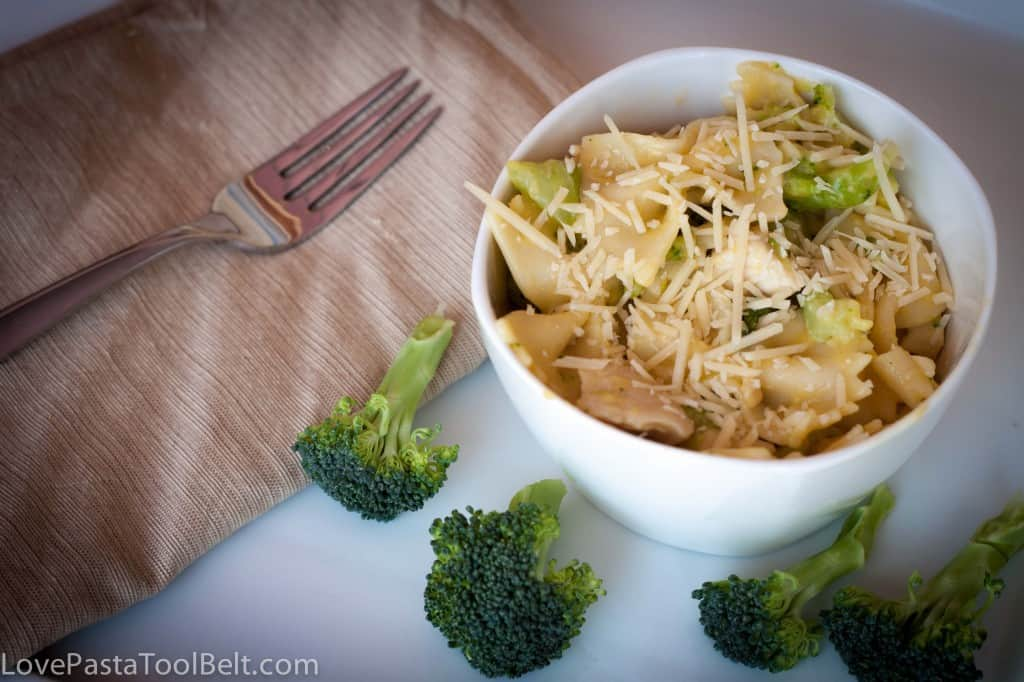 Chicken and broccoli pasta makes a quick and delicious weeknight dinner