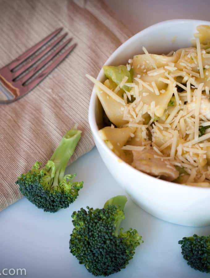 Chicken and Broccoli Pasta- Love, Pasta and a Tool Belt