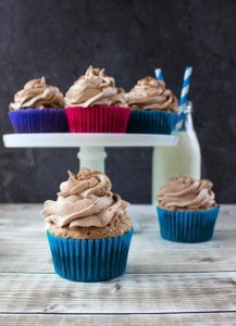 Chocolate Angel Food Cupcakes