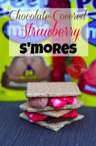 Chocolate-Covered-Strawberry-Smores