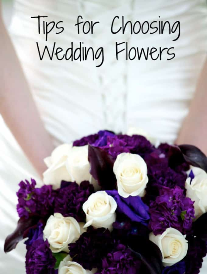Tips for Choosing Wedding Flowers