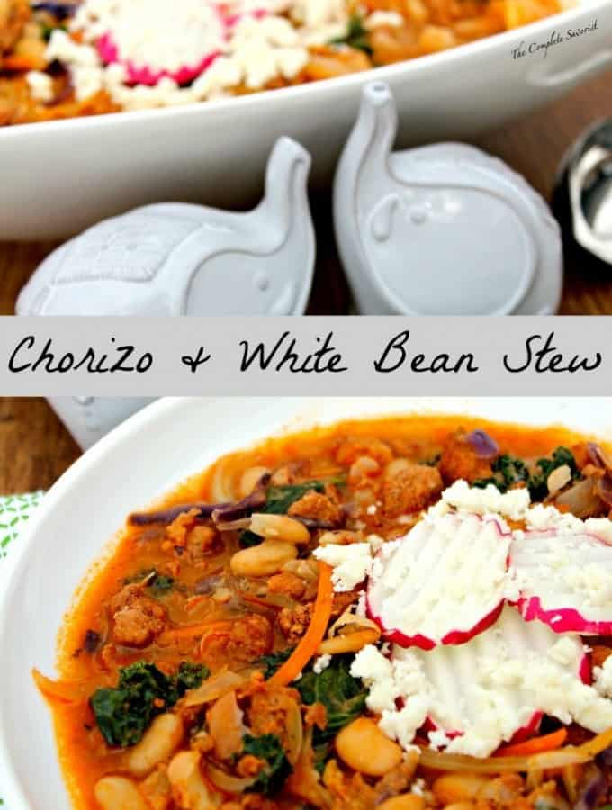 Chorizo and White Bean Stew