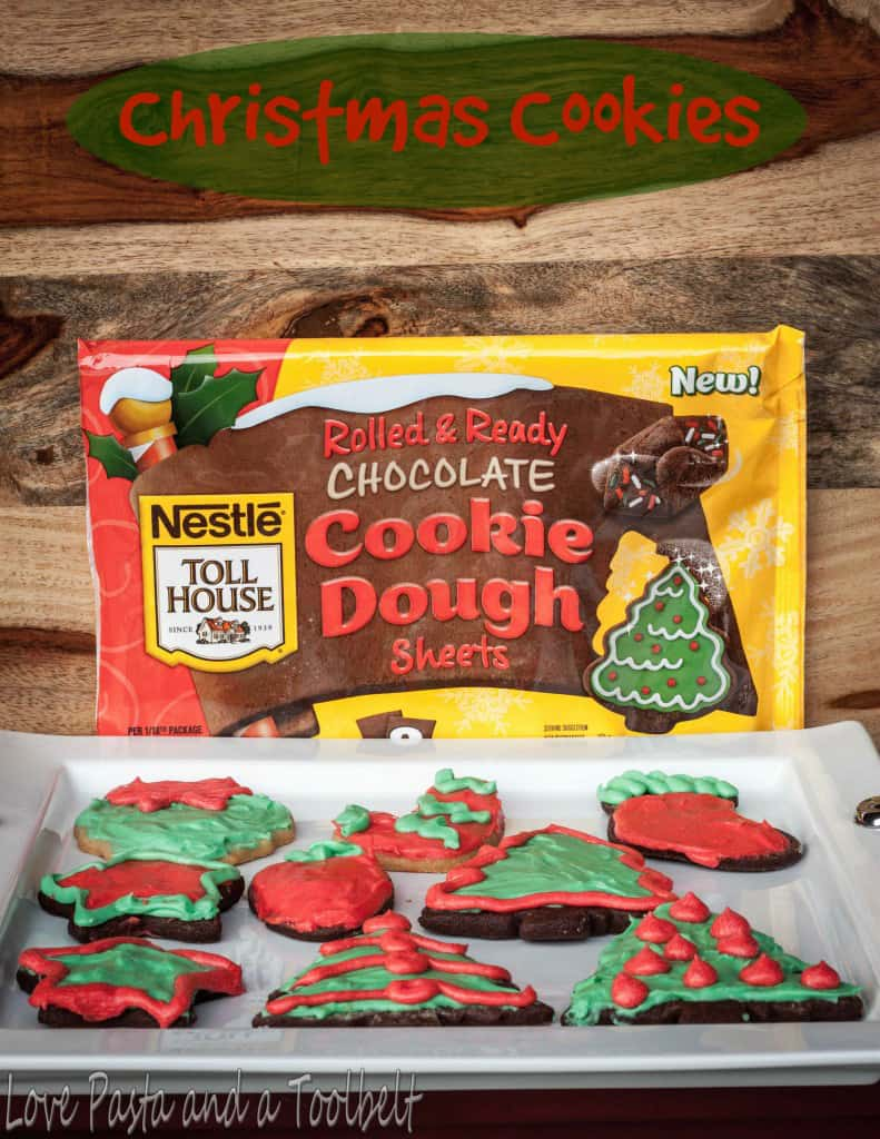 Christmas Cookies with Nestle Toll House Cookie Dough - Love ...