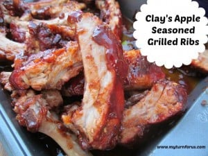 Clays Apple Seasoned Grilled Ribs