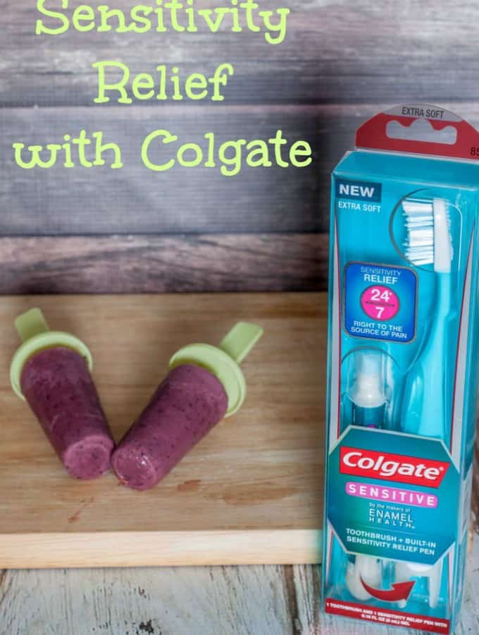 Sensitivity Relief with Colgate and a Warm Weather Treat