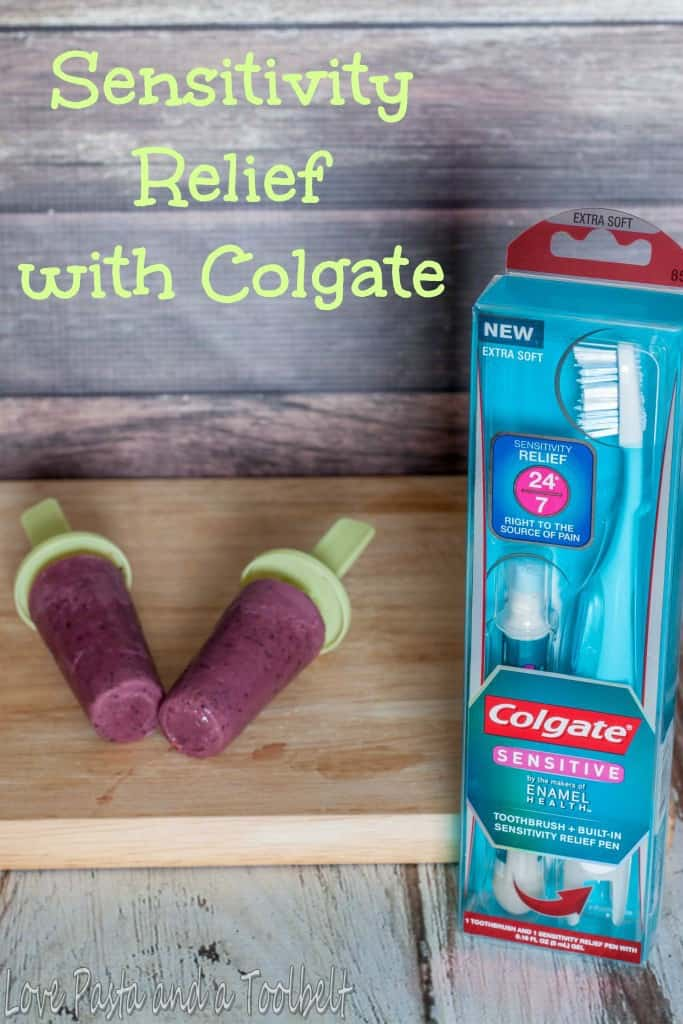 Sensitivity Relief with Colgate and a Warm Weather Treat- Love, Pasta and a Tool Belt #ad #SensitiveSmiles | popsicles | smoothies | smoothie popsicles |