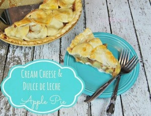 Cream Cheese Dulche Apple Pie