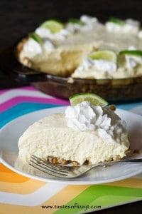 Cream Cheese Lime Pie