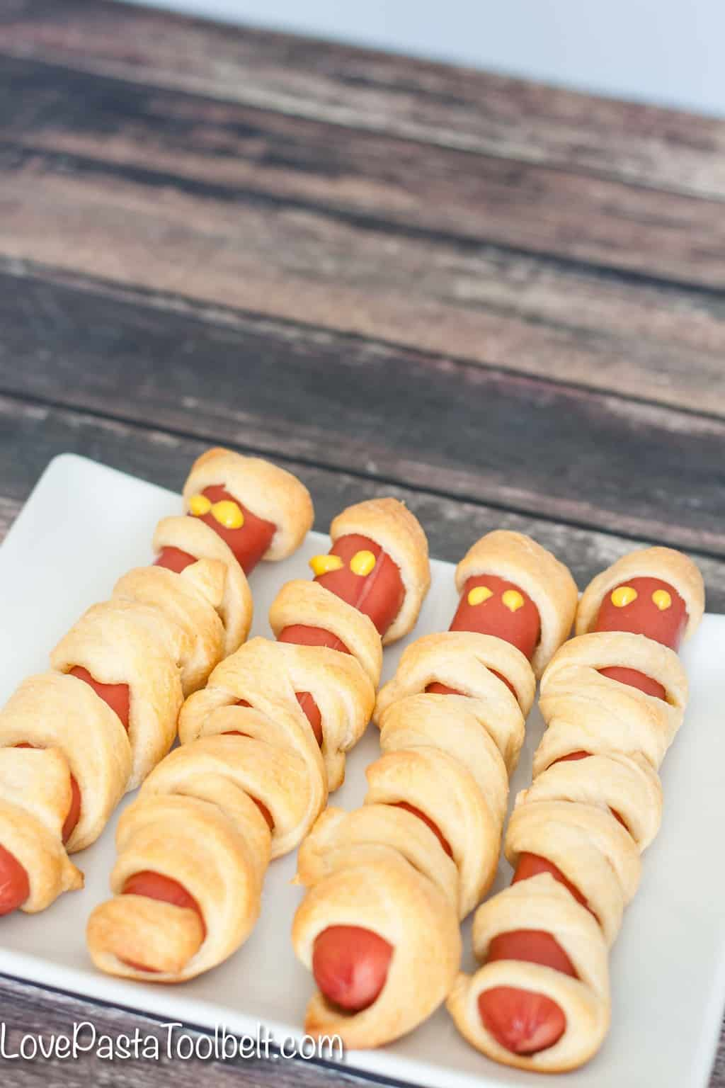 Crescent Roll Recipes Mummy Hot Dogs