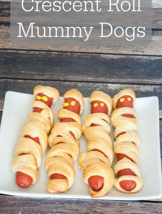 Crescent Roll Mummy Dogs