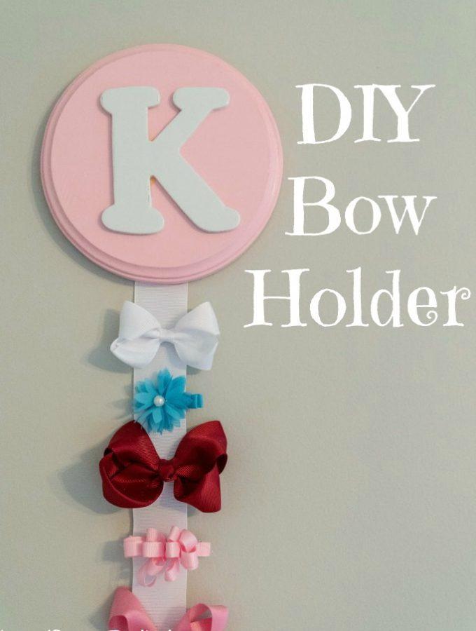 DIY Bow Holder