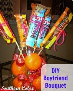 DIY Boyfriend Bouquet