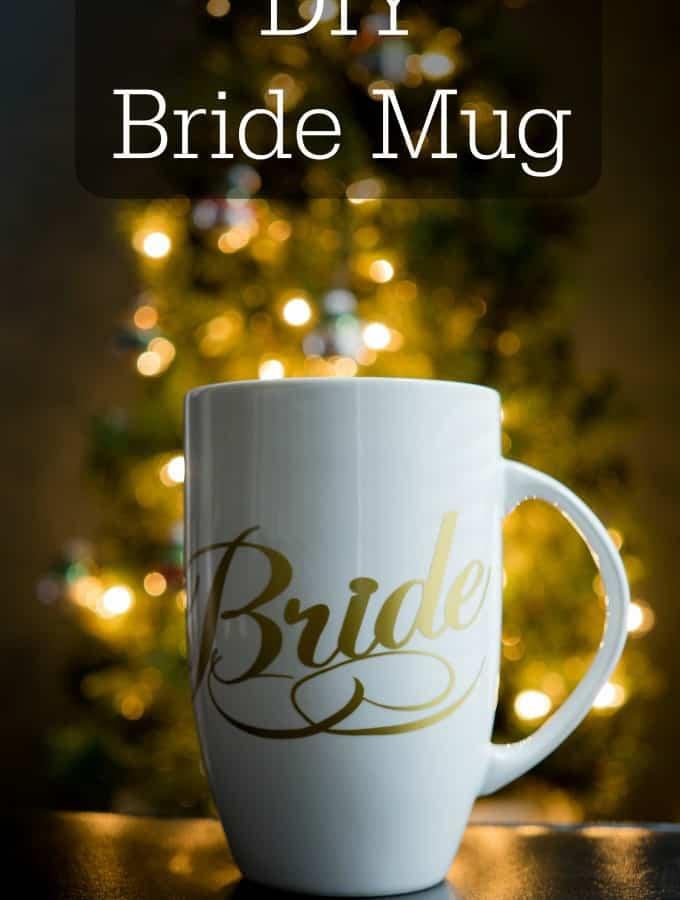 DIY Bride Mug