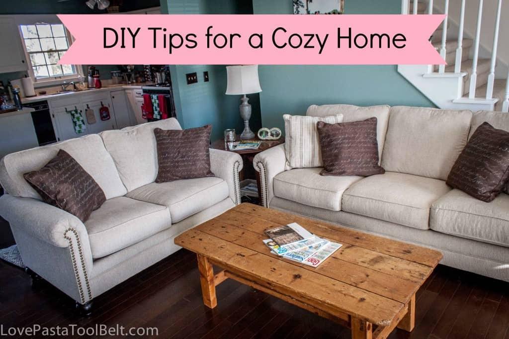 DIY TIps for a Cozy Home