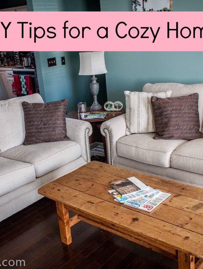 DIY Tips for a Cozy Home