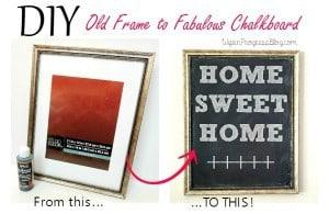 DIY Chalkboard- Love, Pasta and a Tool Belt   chalkboard   chalk paint   DIY   crafts  