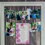 DIY Photo and Card Display- Love, Past and a Tool Belt #ad #BestMomsDayEver | DIY | DIY craft | craft ideas | photos | Photo display |