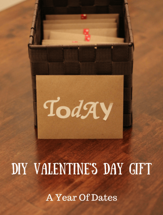 DIY Valentine's Day Gift: A Year of Dates- Love, Pasta and a Tool Belt | Valentine's Day | Gift Ideas | Valentine's Gifts | DIY |