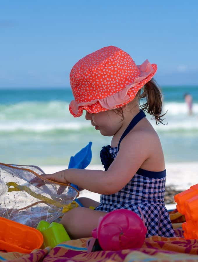 Tips for a Stress Free Beach Trip with a Toddler