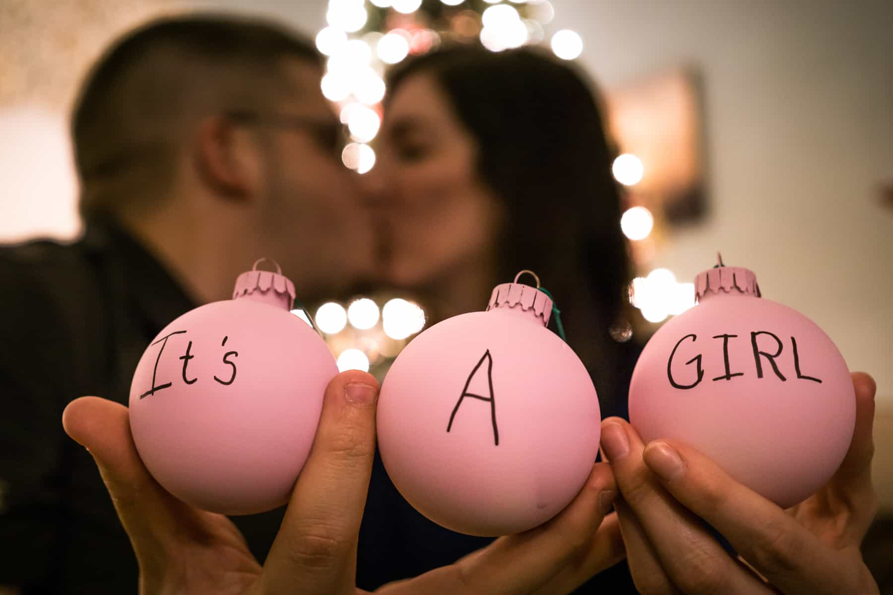 sharing all the details of our christmas gender reveal and how to plan your own