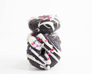 Dark Chocolate Donuts