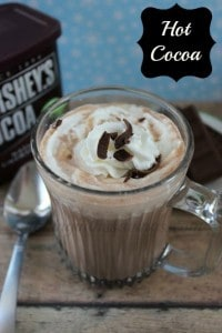 Delish Homemade Hot Cocoa Mix