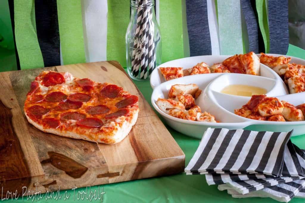 Celebrate the Big Game with DiGiorno®- Love, Pasta and a Tool Belt #ad #PrepareToParty