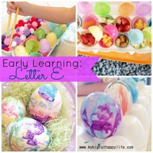Early Learning-Letter E