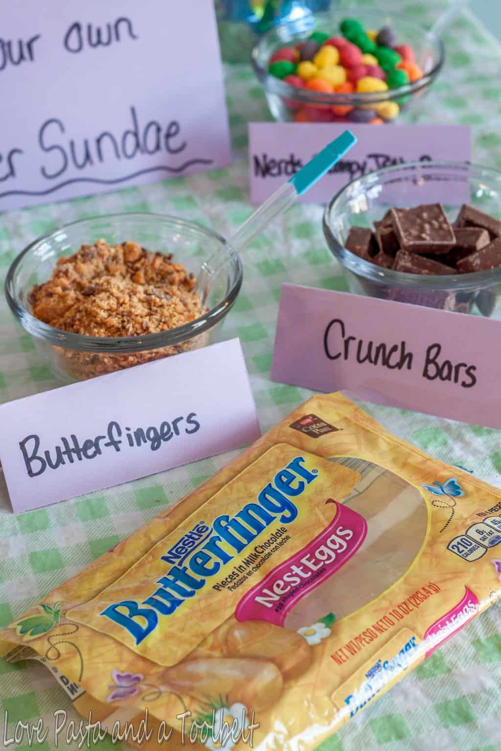 Easter Party Ideas With Nestle Love Pasta And A Tool Belt Ad