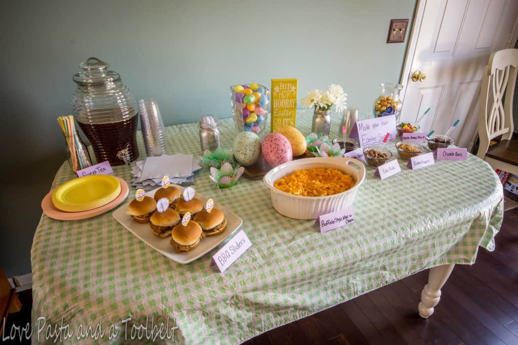 Easter Party Ideas with Nestle- Love, Pasta and a Tool Belt #ad #EasterEssentials | Easter | Party Ideas | Easter Party | Spring Party | Spring |