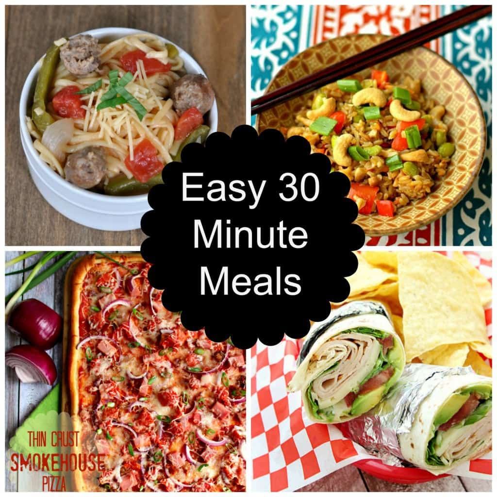 easy 30 minute meals round up love pasta and a tool belt