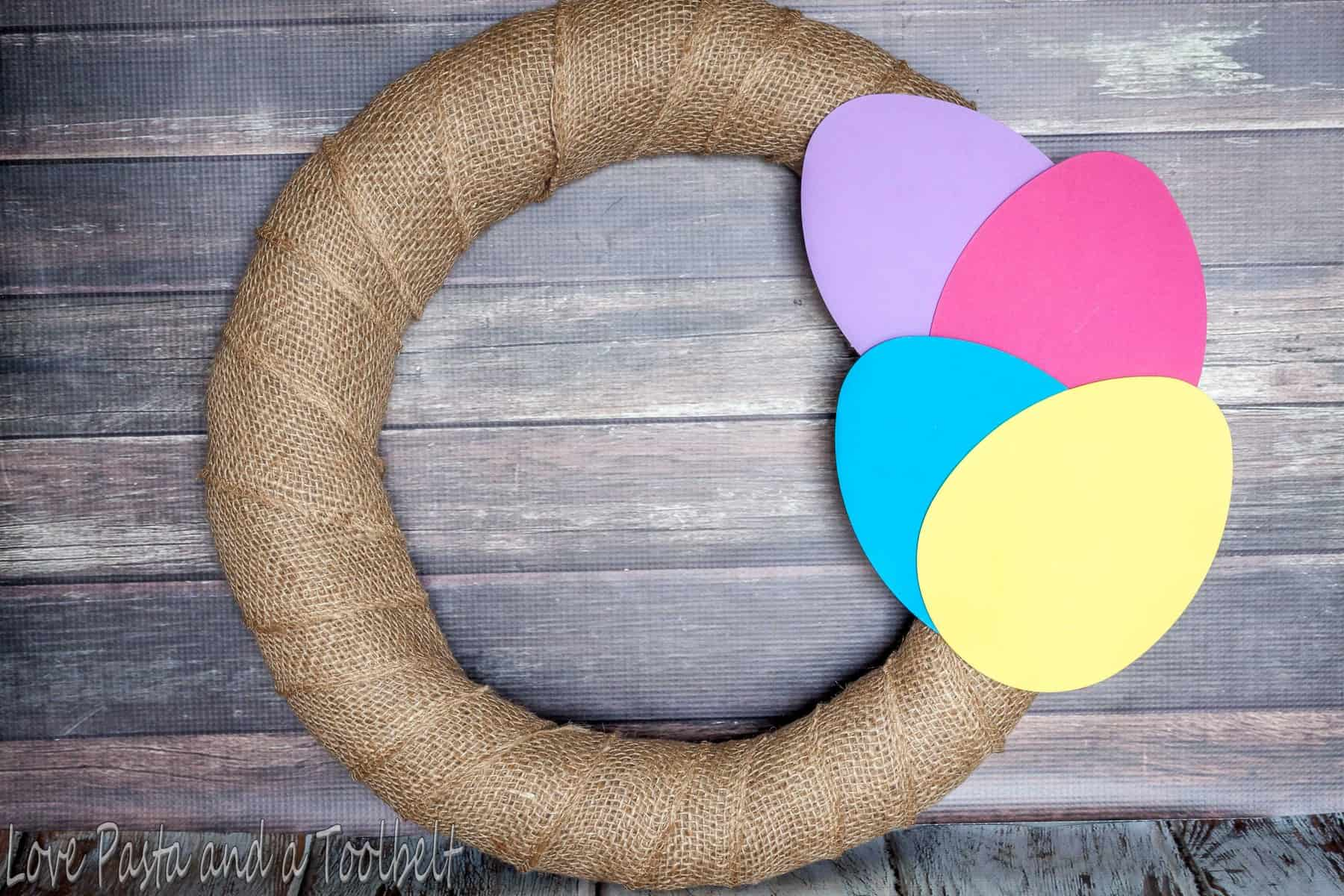 Easy Easter Wreath Love Pasta And A Tool Belt