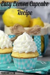 Easy-Lemon-Cupcake-Recipe