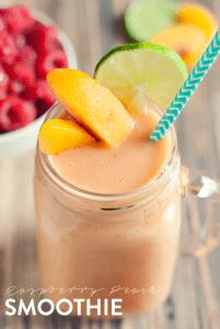 Easy-Peach-Raspberry-Smoothie-1