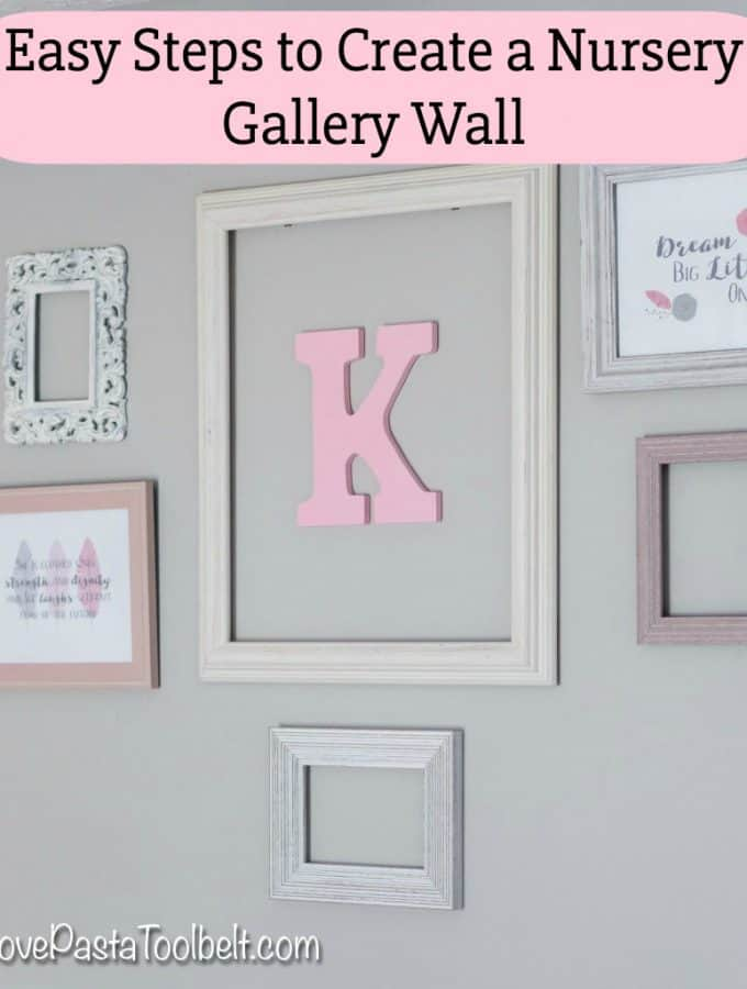 Easy Steps to Create a Nursery Gallery Wall