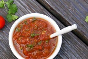 Easy resturaunt style salsa