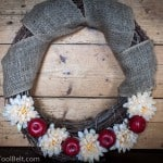 Fall Apple Wreath- Love, Pasta and a Tool Belt #fall #wreath