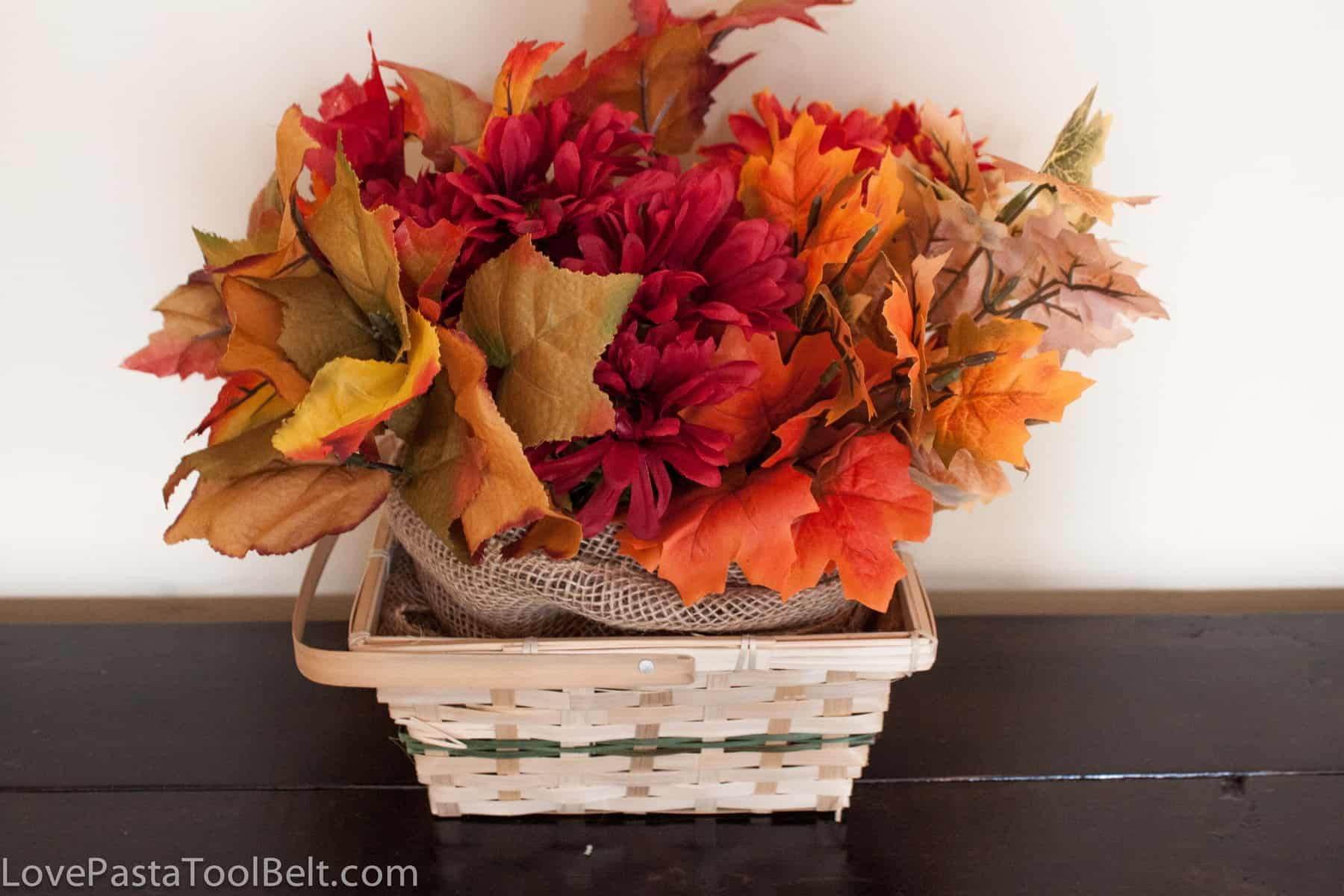 Dollar Store Fall Centerpiece