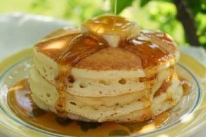 Featherlight Pancakes