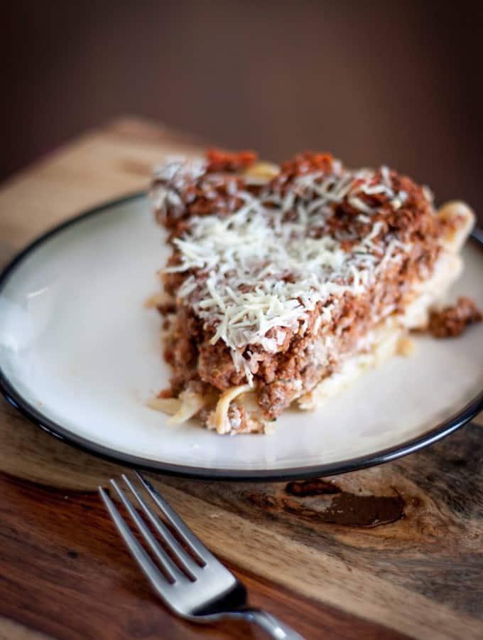 Fettuccine Pie
