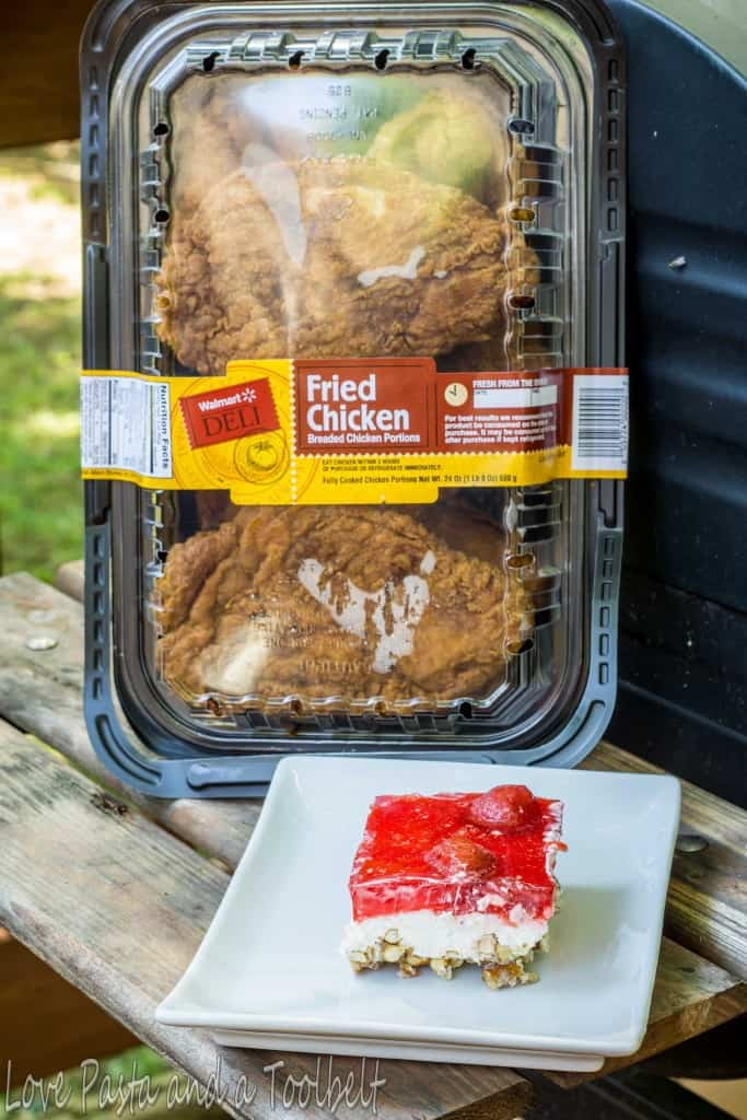 #AD Summer Fun with Fried Chicken- Love, Pasta and a Tool Belt | summer | fun | recipes | #SummerYum