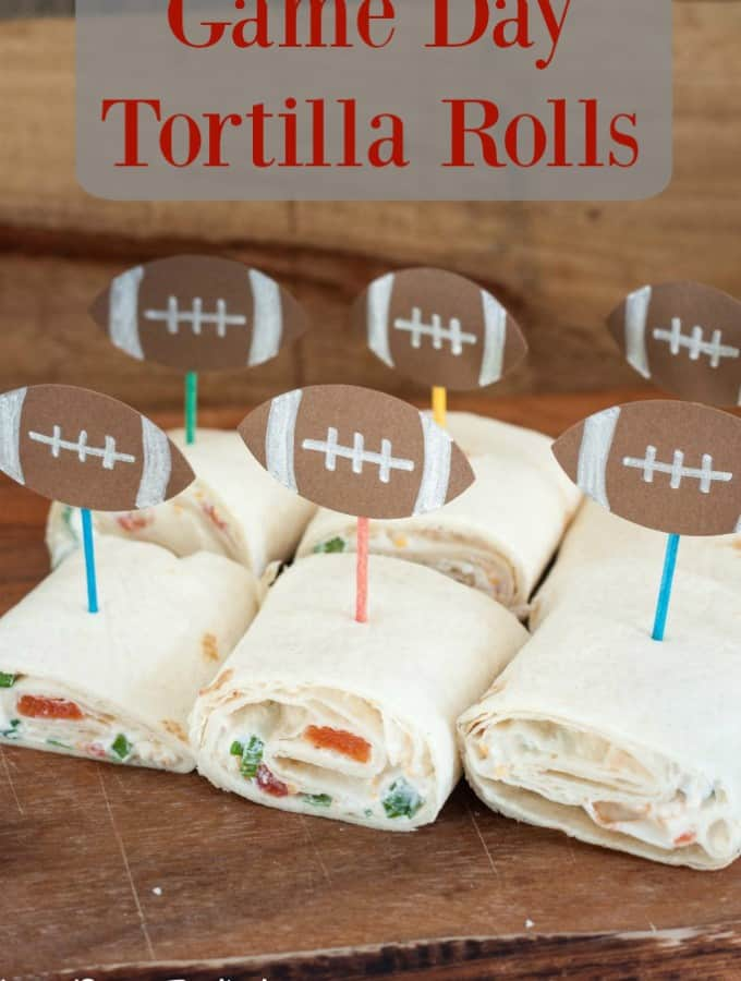 Game Day Tortilla Rolls