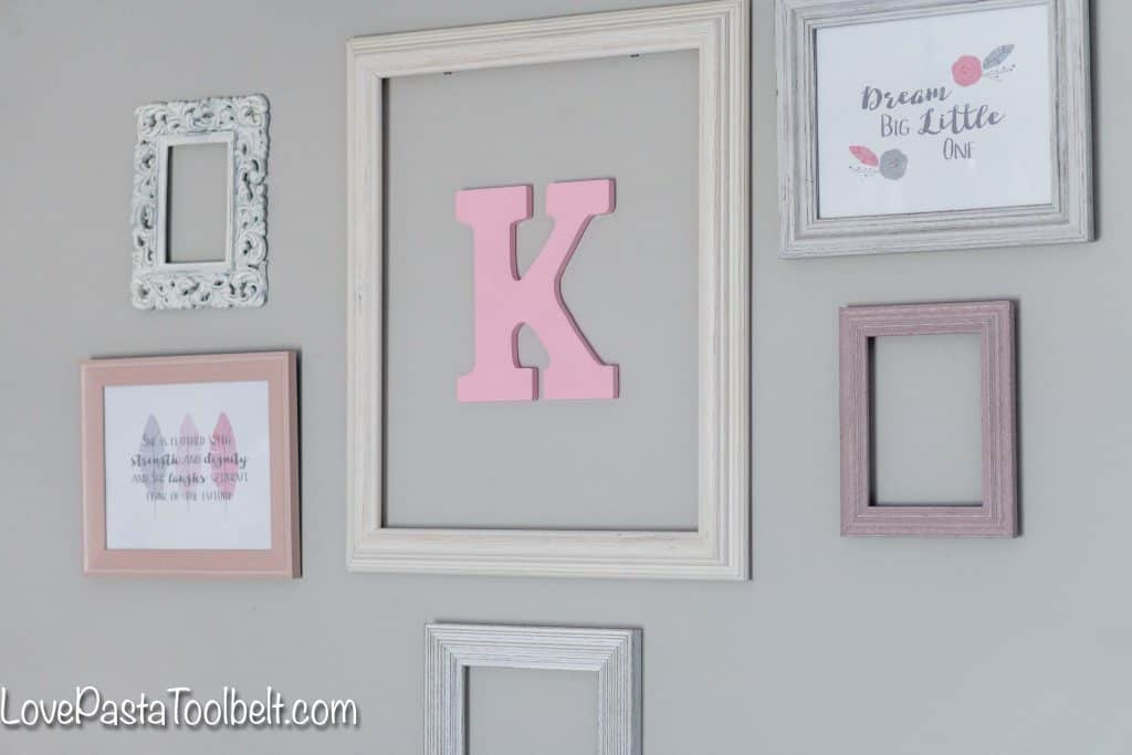 Easy Steps to Create a Nursery Gallery Wall - Love, Pasta, and a ...