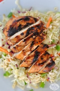 Grilled Sticky Chicken