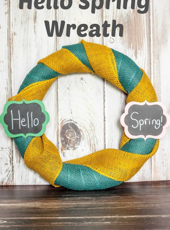 Hello Spring Wreath