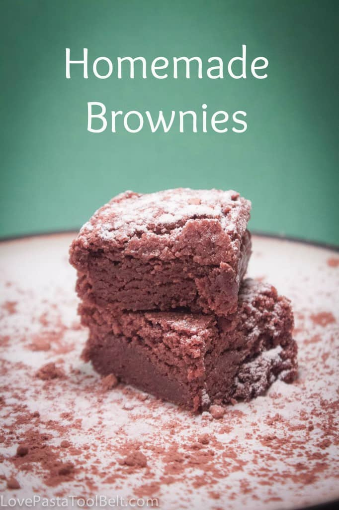 Homemade Brownies - Love, Pasta, and a Tool Belt