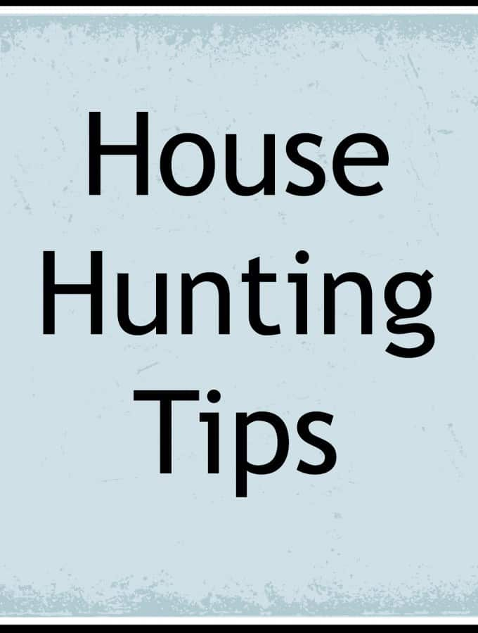 6 Key House Hunting Tips