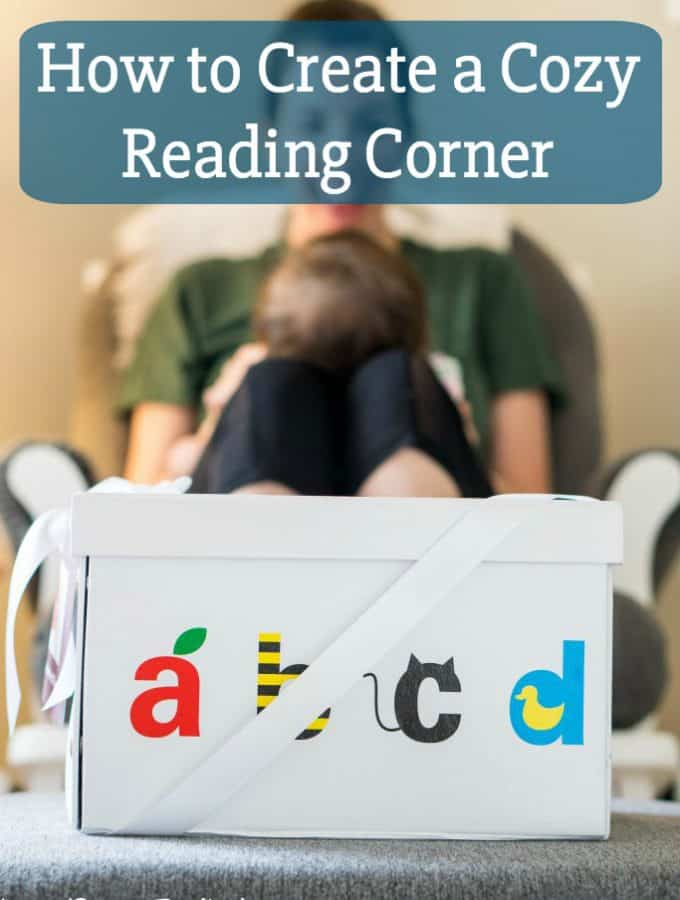Instilling the love to read in my little girl is very important to me. I created a cozy reading corner so she would have a spot to enjoy reading books and I wanted to share with you How to Create a Cozy Reading Corner so you can make one too! {ad}