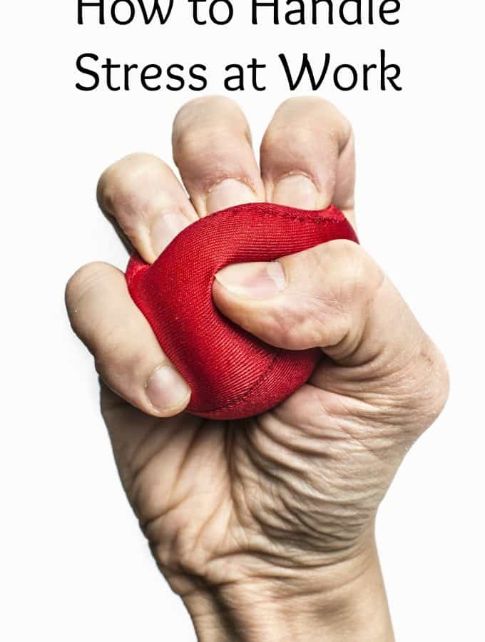 Please welcome back my contributor Rebecca from Rebecca Chapman as she shares tips for How to Handle Stress at Work!- Love, Pasta and a Tool Belt | work | work tips | stress | handle stress |