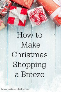 Sharing some tips on How to Make Christmas Shopping a Breeze- Love, Pasta and a Tool Belt #HolidayWin #CG #ad